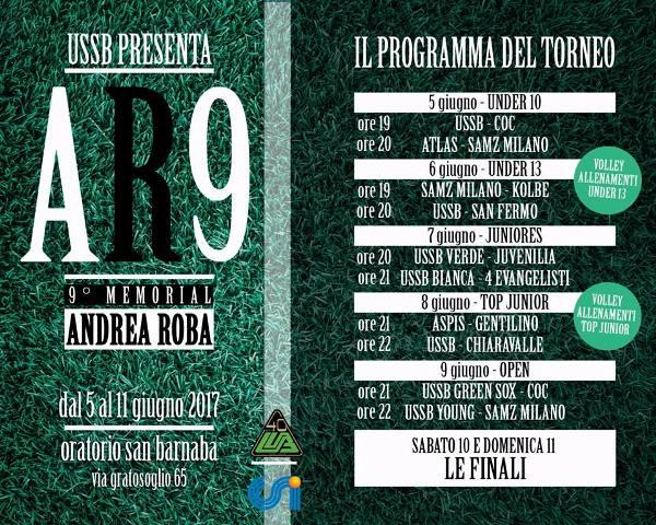 Calendario Csi Milano.Ussb Memorial Andrea Roba